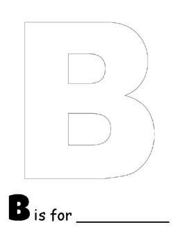 Alphabet Collage Workbook