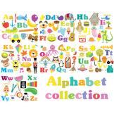 Alphabet Collection Clipart & Vector Set - Instant Downloa