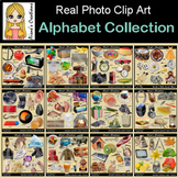 Alphabet Collection Real Photo Clip Art