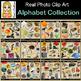 Alphabet Collection Real Photo Clip Art