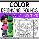 Alphabet Color Beginning Sounds