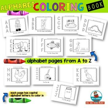 Alphabet Color Book | Learn the ABC's | [Learning the Alphabet]