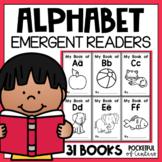 Alphabet Books | Emergent Readers {31 Books}