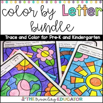 Color By Letter Year Long Bundle