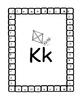 Alphabet Color,Clip,Punch Card Set