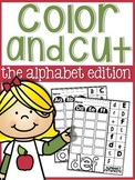 Alphabet Cut & Glue Sheets