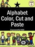 Alphabet Color, Cut & Paste
