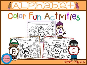 Alphabet Color Fun Activities (FALL EDITION)