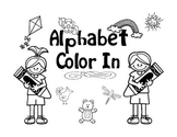 Alphabet Color In