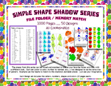 Alphabet Color Number Shape Huge 1000 page Design Memory F