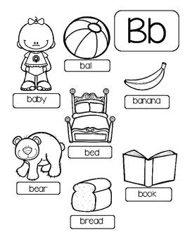 Alphabet Color Pages