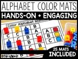 Alphabet Color Search Mats