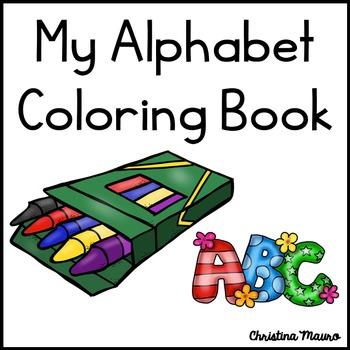 Alphabet Coloring Book