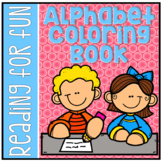 Alphabet Coloring Book - Beginning Sounds for Preschool and Kindergarten RF.K.2d