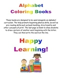 Alphabet Coloring Book- Letter B