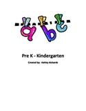 Alphabet Coloring Book Phonics