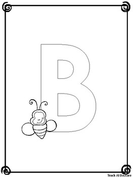Alphabet Coloring Book. Preschool-KDG Literacy and Phonics.