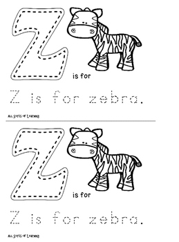 Phonics Coloring Book - letters m - z