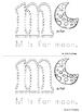 Alphabet Coloring Book m - z
