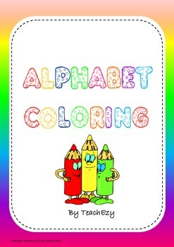 Alphabet Coloring In