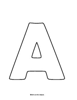 Alphabet Coloring Letters & Activities