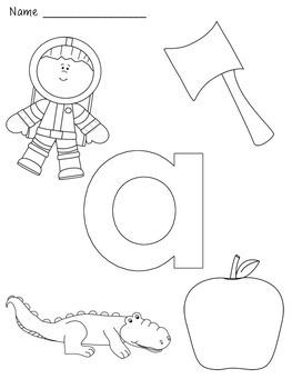 Alphabet/Letter Coloring Pages