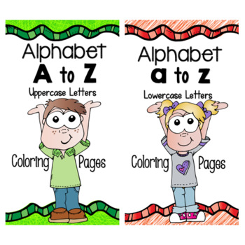 Alphabet Coloring Pages {Bundle}
