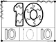 Letters and Numbers Coloring Pages (Stained Glass)