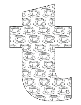 Alphabet Coloring Pages For The Letter T 7 Beginning Sound Pictures For T