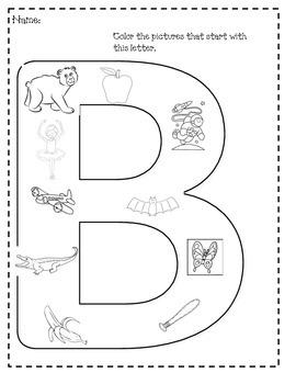 Alphabet Coloring Sheets