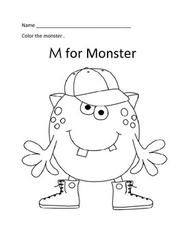 Alphabet Coloring Sheets A to Z