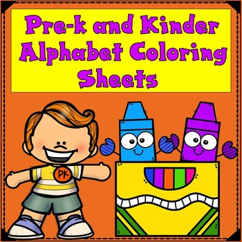 Alphabet Coloring Sheets:  ABC Posters