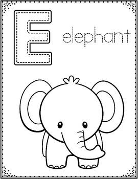 Alphabet Coloring Sheets: PreKindergarten and Kindergarten ...