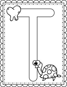 Alphabet Coloring Worksheets Instant Download PDF; Preschool, Kindergarten