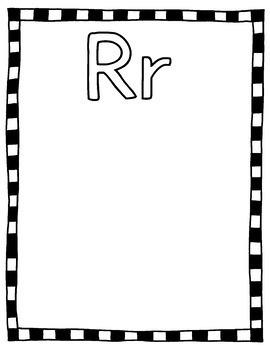 Alphabet Coloring & Writing Pages; Kindergarten; Preschool; Homeschool; Literacy