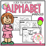 Alphabet Coloring for Toddlers