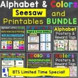 Alphabet & Colors Seesaw Super Saver Bundle with Bonus Printables