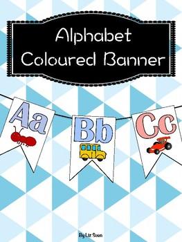 Alphabet Coloured Banner