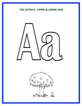 Alphabet Colouring Book