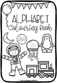 Alphabet Colouring / Coloring Book