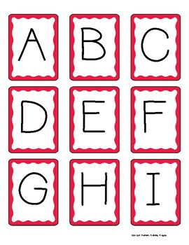 Alphabet Concentration-Letters and Sounds