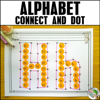 Dot to Dot - Connect the Dots Alphabet - Letter Recognition