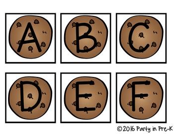 Alphabet Cookie Game