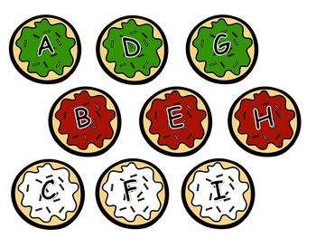 Alphabet Cookie Sort