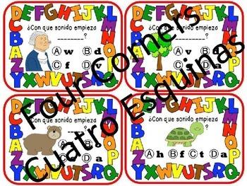Cooperative Game Bundle: Spanish Alphabet initial letters