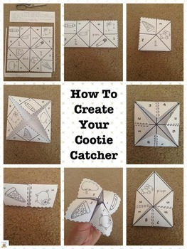 Alphabet Cootie Catchers