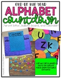 Alphabet Countdown, End of the Year Bulletin Board, Parent Letter and Calendar