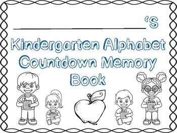 Alphabet Countdown Memory Book