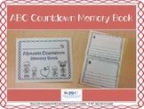 Alphabet Countdown Memory Book