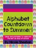 Alphabet Countdown to Summer!
